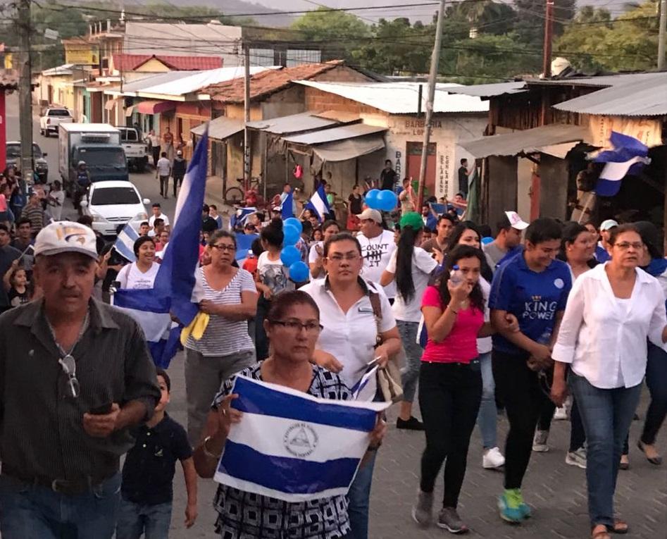Leoneses se apoderan de sus calles exigiendo el respeto a los derechos humanos. Foto: Cortesía