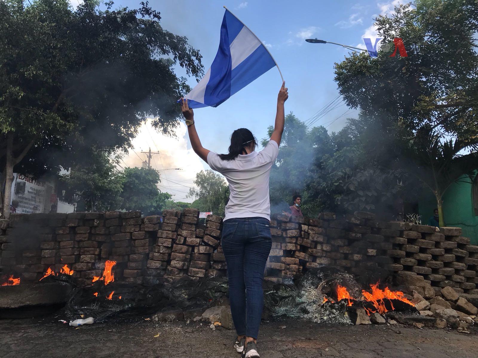 Las feministas de Nicaragua desean que se romban las barreras de la represión para ir a diálogo nacional. Foto: La Voz de América