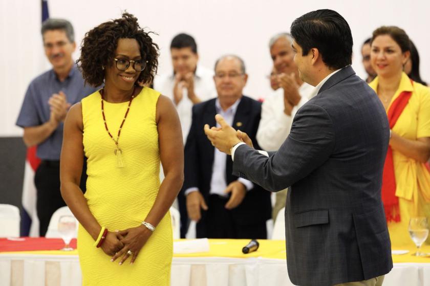 Epsy Campbell, la nueva vicepresidenta de Costa Rica, electa en fórmula con Carlos Alvardo, del PAC
