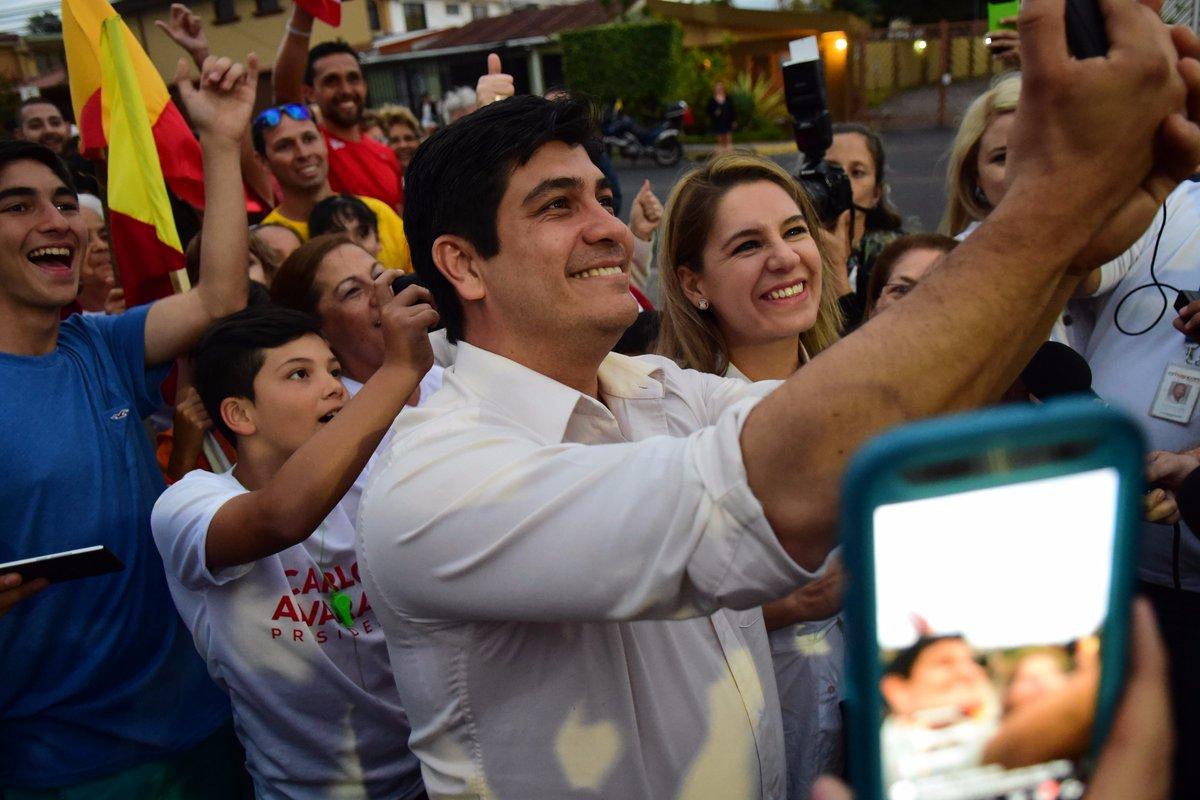 Carlos Alvarado el nuevo presidente de Costa Rica . Foto tomada de Internet.