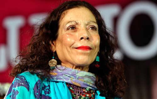 Vicepresidenta Rosario Murillo. Foto: La Voz del Sandinismo