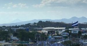 Miles de nicaragüenses se congregaron en busca de una Nicaragua democrática. Foto: cortesía