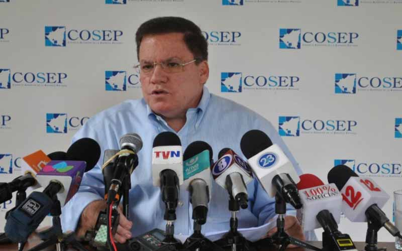 José Adán Aguerri, presidente del Cosep. Foto: La Voz del Sandinismo