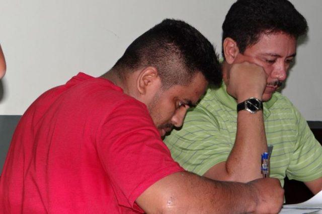 Lesther Torrez acusado de violación en perjuicio de una joven detenida en el distrito II. Foto: La Prensa