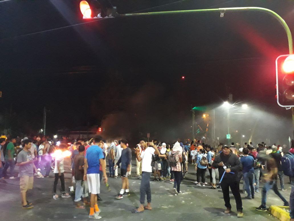 Anarquía en Managua ciudadanía se toma las calles. Fotografía: Abixael MG/Artículo66