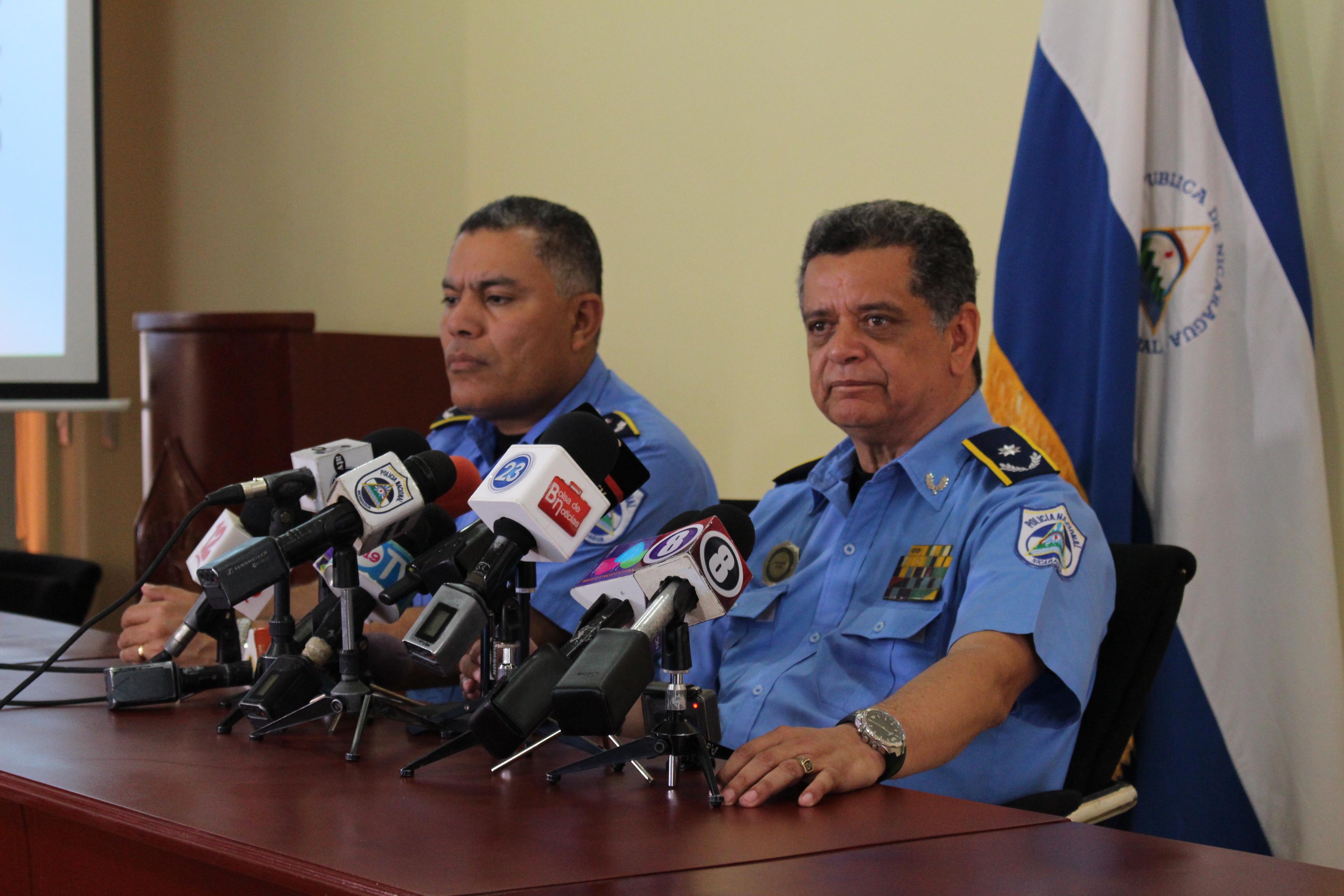 El comisionado general Francisco Díaz, sub director de la Policía Nacional. Fotografía: Abixael MG/Artículo66
