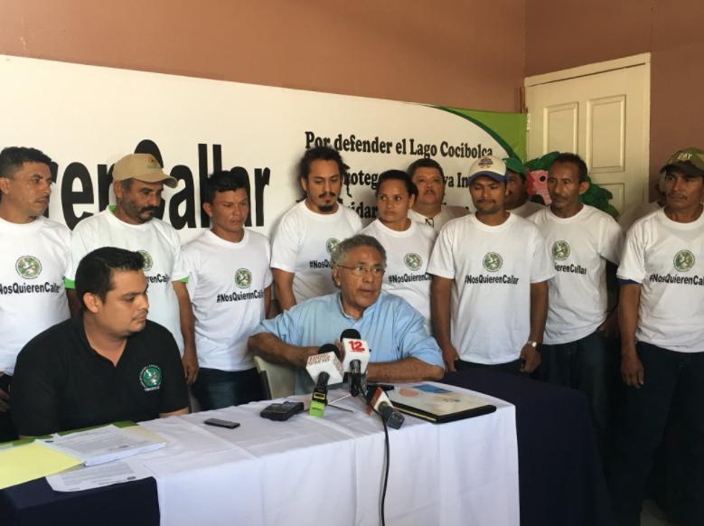 Amenazan con quemar radios de la Fundación del Río por informar sobre Indio Maíz. Foto: Cortesía