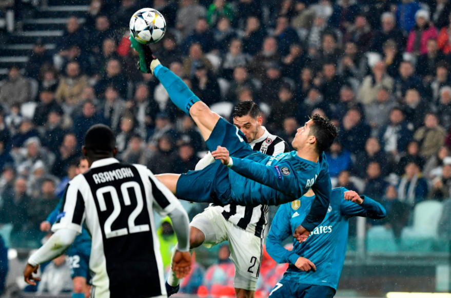 El soberbio e increíble gol de Cristiano Ronaldo frente al Juventus