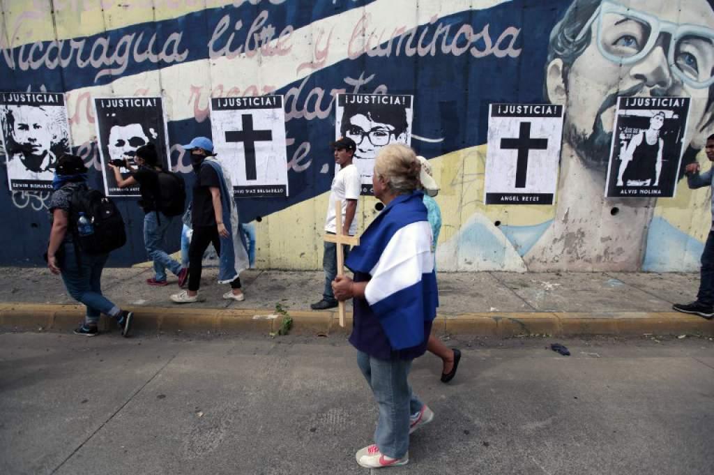 Daniel Ortega masacró sin piedad y asesinó a 15 nicaragüenses en la manifestación de las madres AFP/ D.ULLOA
