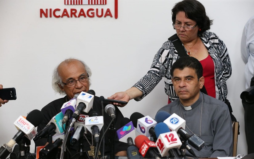 Anuncio de la Conferencia Episcopal de Nicaragua. Foto: César Pérez/19Digital