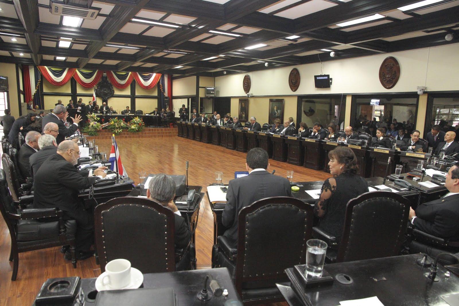 Parlamento firma moción en solidaridad con Nicaragua. Foto: La Patilla/Panamapost