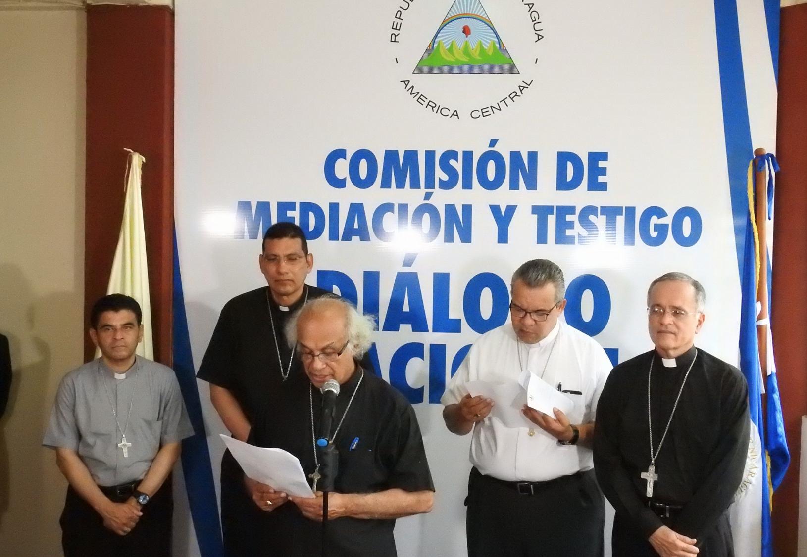 Obispos exigen al Gobierno de Daniel Ortega que invite a la CIDH y cese la represión para iniciar diálogo