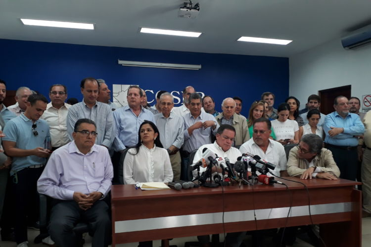 Sector privado se pronuncia ante el diálogo nacional. Foto: La Prensa