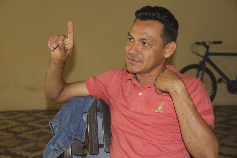 Salomón Manzanares después de ser liberado. Foto: Periódico Hoy