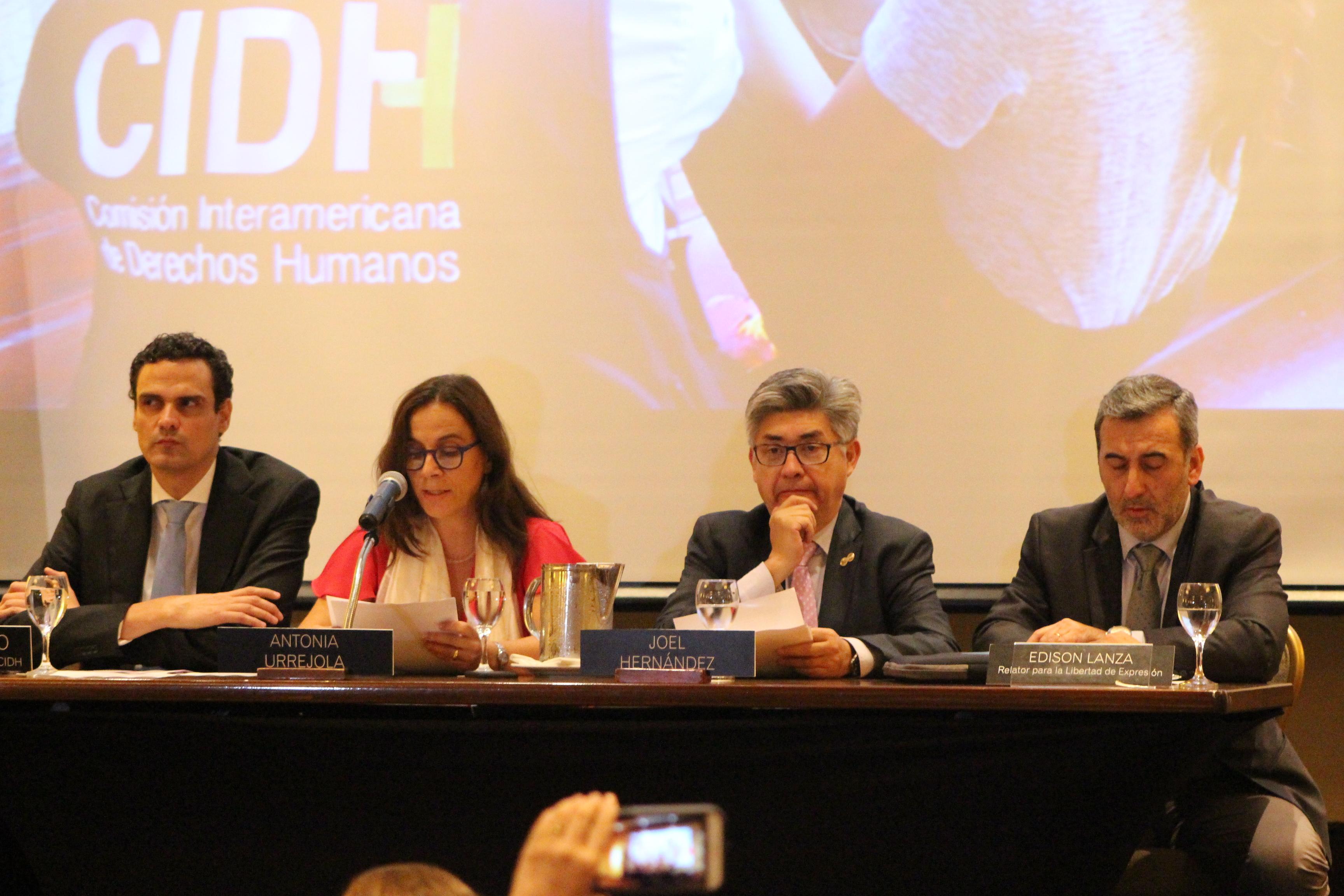 """Equipo de trabajo de la CIDH concluyó que en Nicaragua se registraron """"graves abusos a los derechos de los nicaragüenses"""". Foto: M. Mercado"""