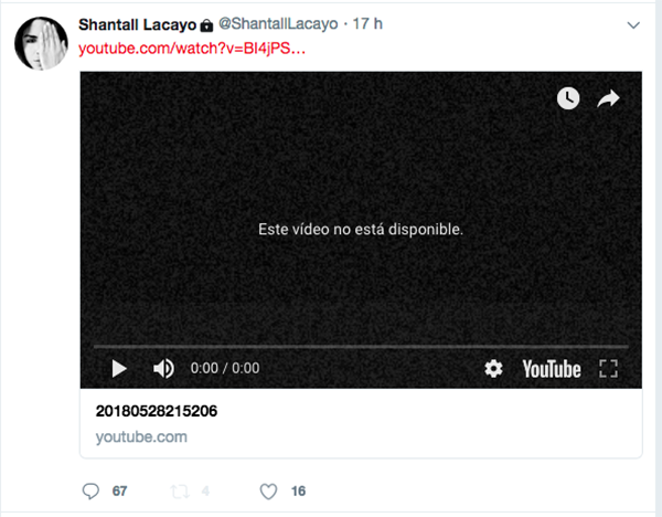 Shantall Lacayo publicó un video en sus redes sociales en el que explicaba cómo se siente con la situación del país. En cuanto el Miami Fashion Week anunció la cancelación de su evento, la diseñadora eliminó su sentir.