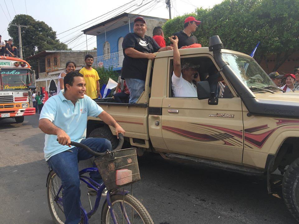 Marcelino García Quiroz, quien es catalogado como «un viejo cacique sandinista» leal a Daniel Ortega