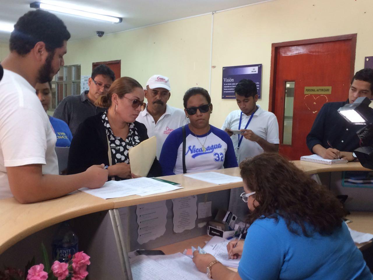 Llueven denuncias en la Fiscalía General de Nicaragua contra Gobierno de Daniel Ortega. Foto: Vos TV