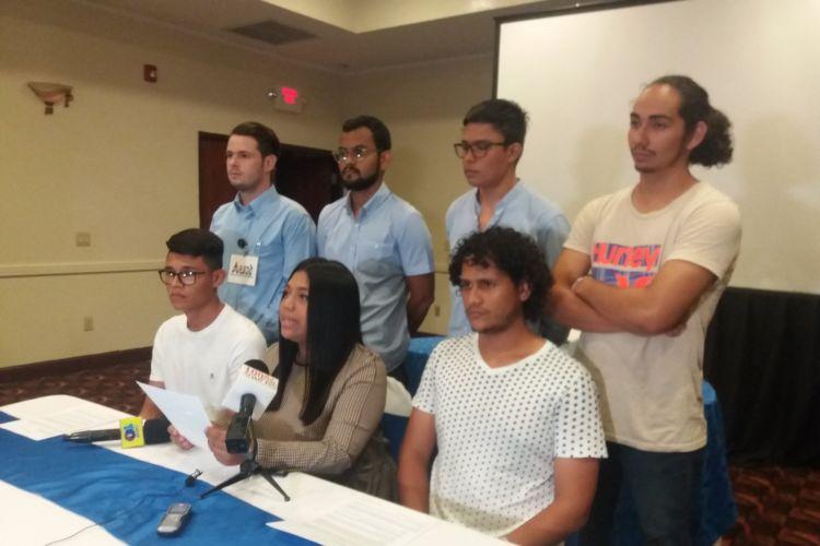 Nueva Coalición de Estudiantes Universitarios y Sociedad Civil. Foto: La Prensa