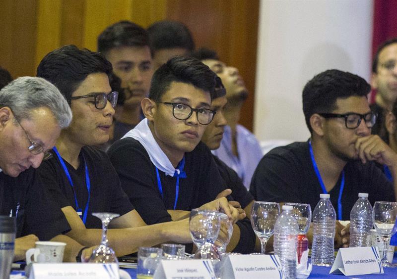 CIDH otorga medidas cautelares para 13 estudiantes que han desafiado en las calles a Daniel Ortega. El Estado deberá garantizar la seguridad para los universitarios y sus familias. Foto: C. Herrera / Confidencial