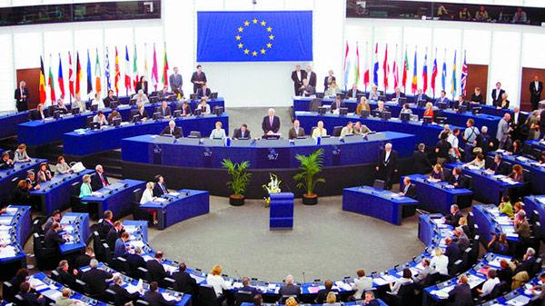 Parlamento Europeo realiza sesión plenaria sobre la crisis en Nicaragua. Foto: Mediterráneo Digital