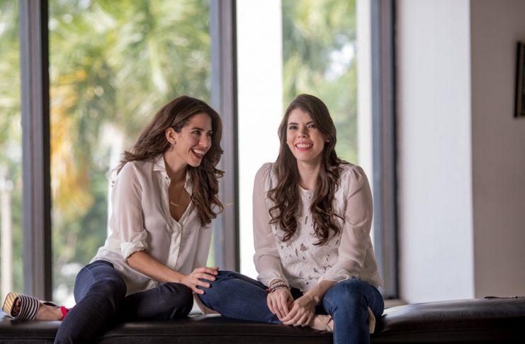 Shantall Lacayo y Camila Ortega Murillo. Foto