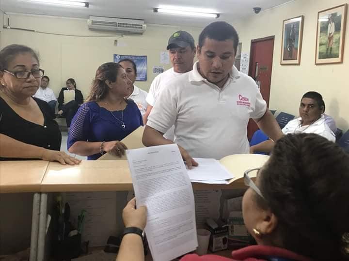 Familiares denuncian asesinatos en el Ministerio Público. Foto: L. Madriz