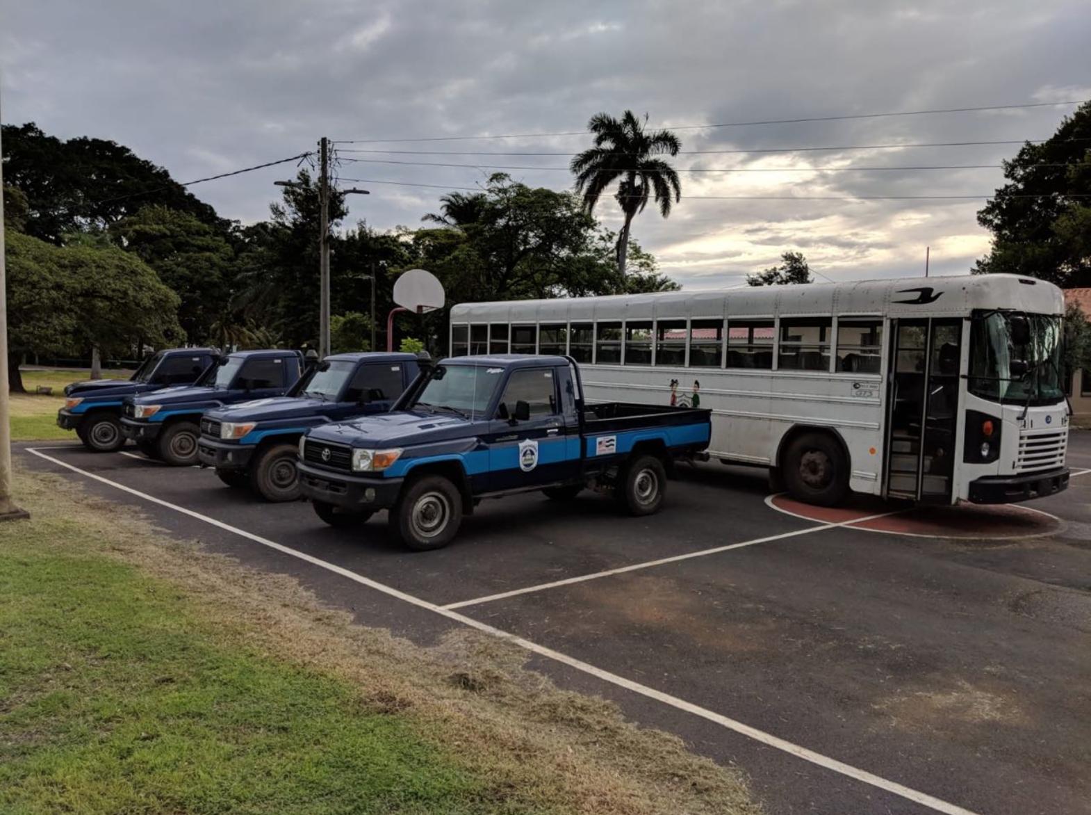 Embajada de EE. UU. pide a la Policía Nacional que devuelva vehículos donados que eran usados para reprimir