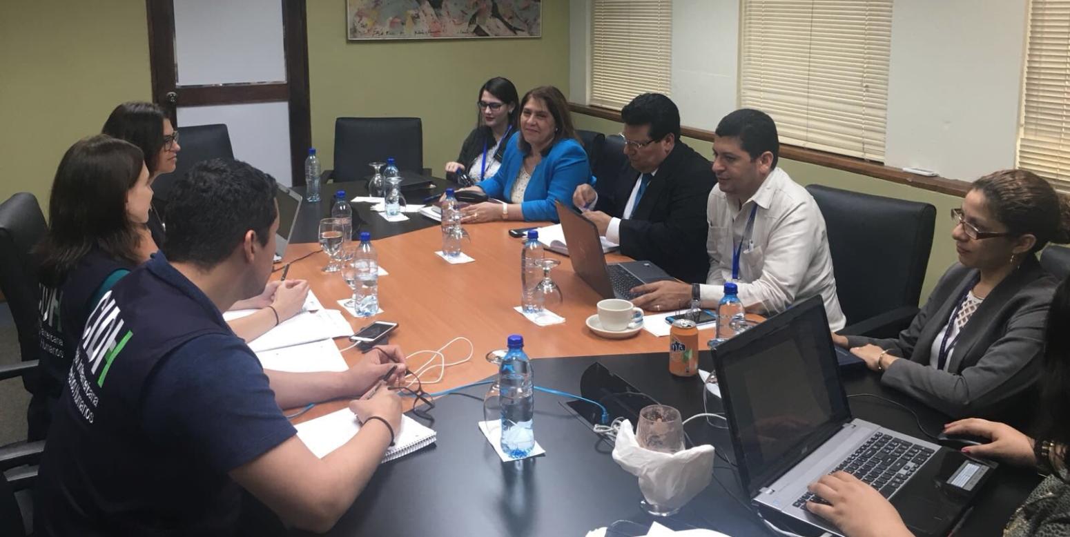 Delegación de la CIDH se reúne con funcionarios orteguistas