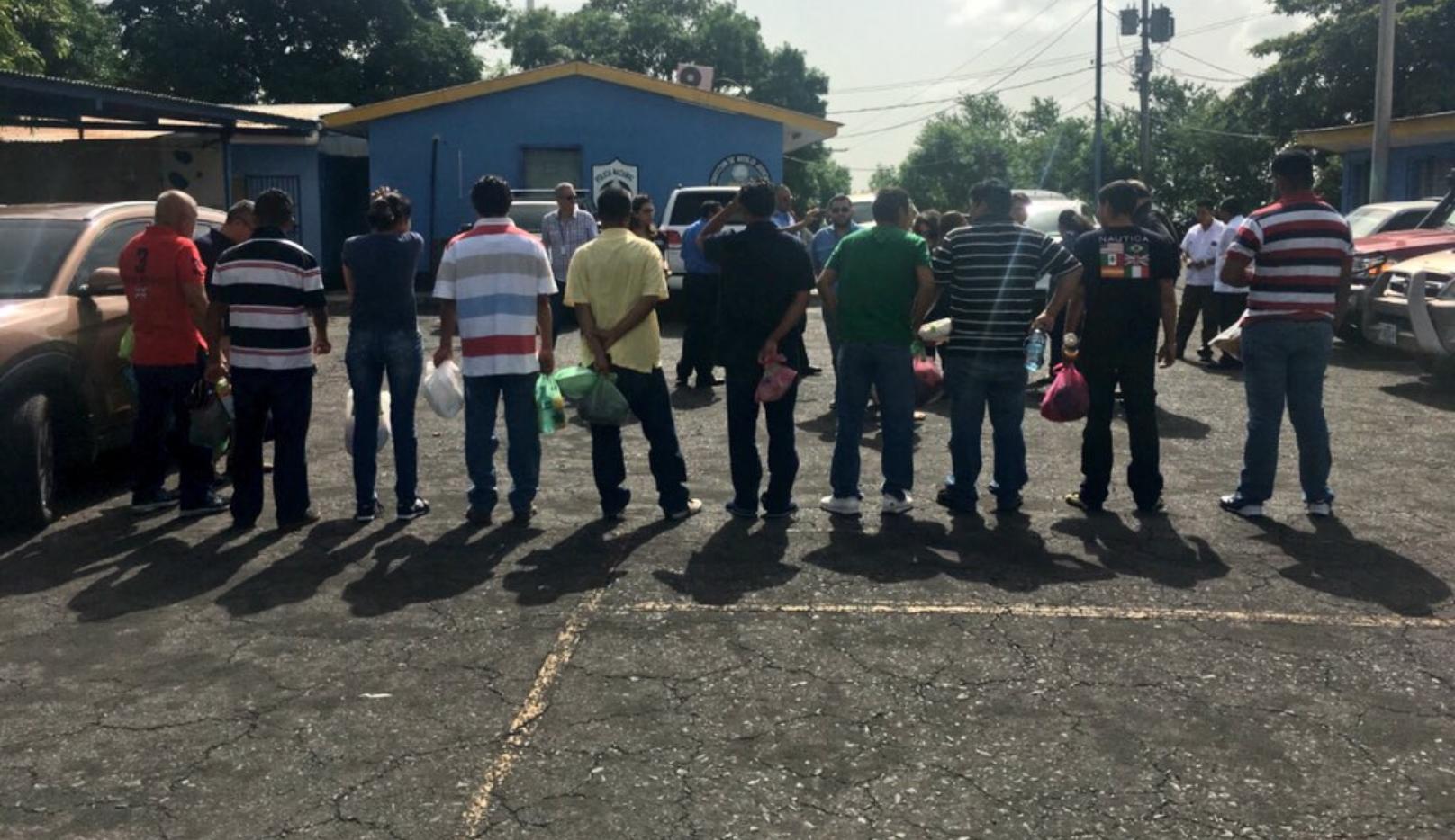 CIDH logra la liberación de 10 personas de Nagarote que estaban en El Chipote. Foto: CIDH