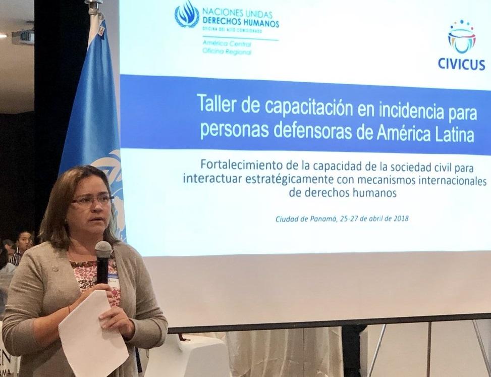 La representante de la ONU en América Central, Marlene Alejos, encabezará el equipo que estará en Nicaragua. Foto: Tomada de Twitter de la ONU