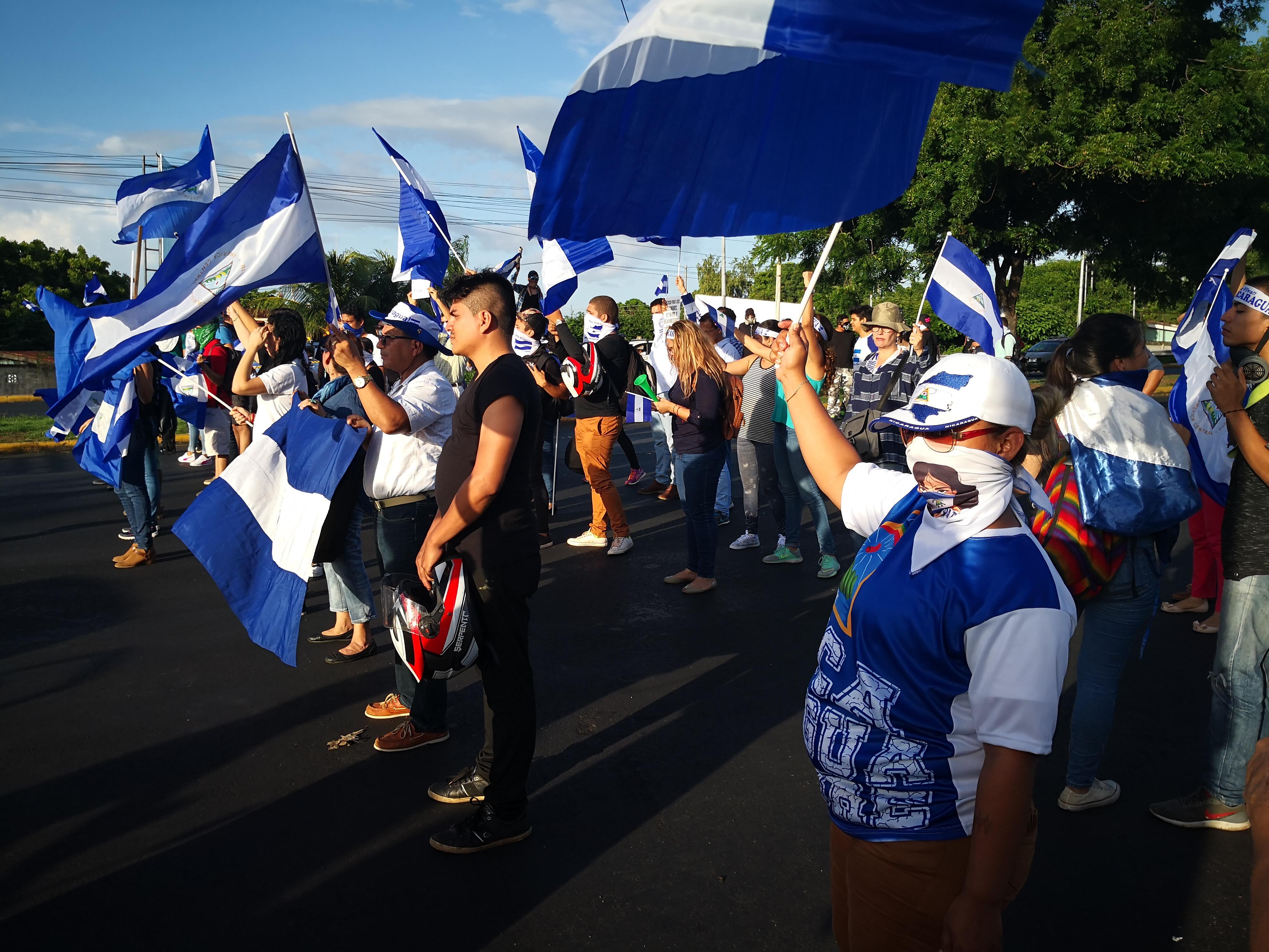 Conmemoran dos meses de represión y rebelión cívica contra la dictadura. Foto: A. Navarro / Artículo 66
