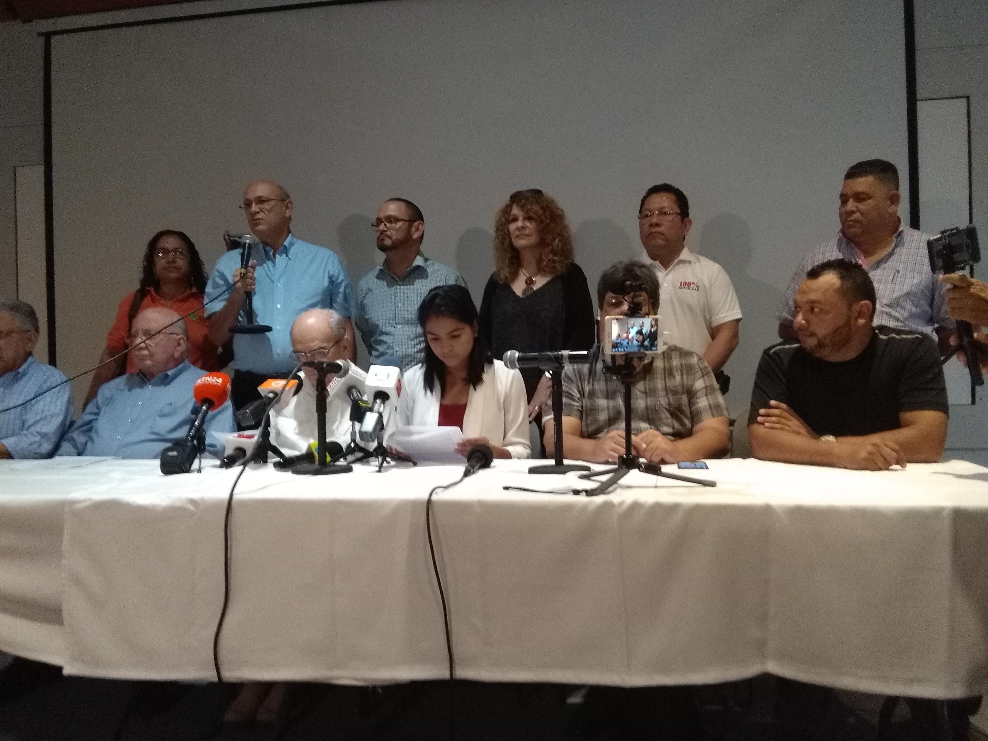 Periodistas y medios independientes se pronuncian ante el recrudecimiento de la represión y violencia. Foto: A. Cruz