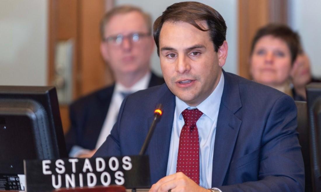Carlos Trujillo, embajador de los Estados Unidos ante la Organización de los Estados Americanos. Foto: tomada de SUNOTICIERO