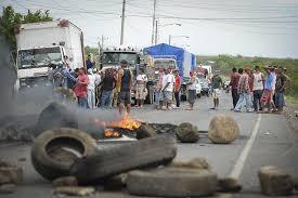 Tranques Nicaragua durante la crisis social. Foto: La Prensa