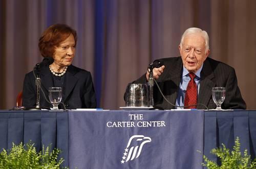Jimmy Carter, fundador del Centro Carter. Foto: tomada de QuestionDigital
