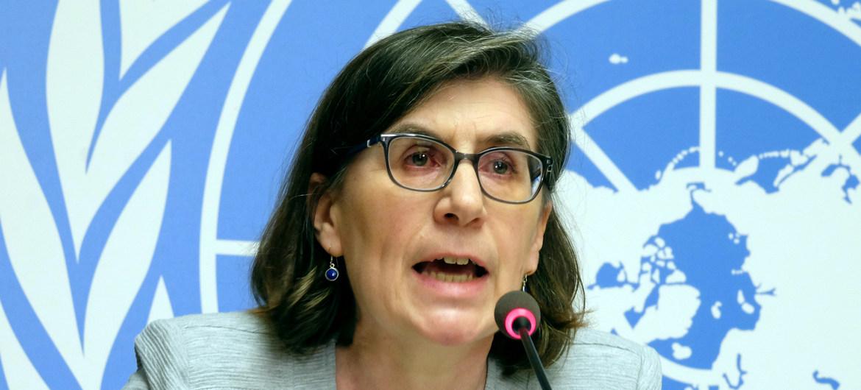 Liz Throssell, portavoz de Naciones Unidas. Foto: UN News