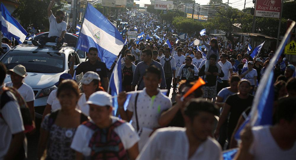 Nicaragua sigue luchando por la democracia. Fotografía: REUTERS