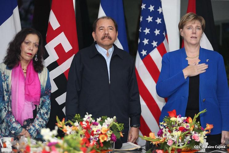 EE.UU se reunió con Daniel Ortega para hablar sobre la crisis democrática. Foto: 19digital