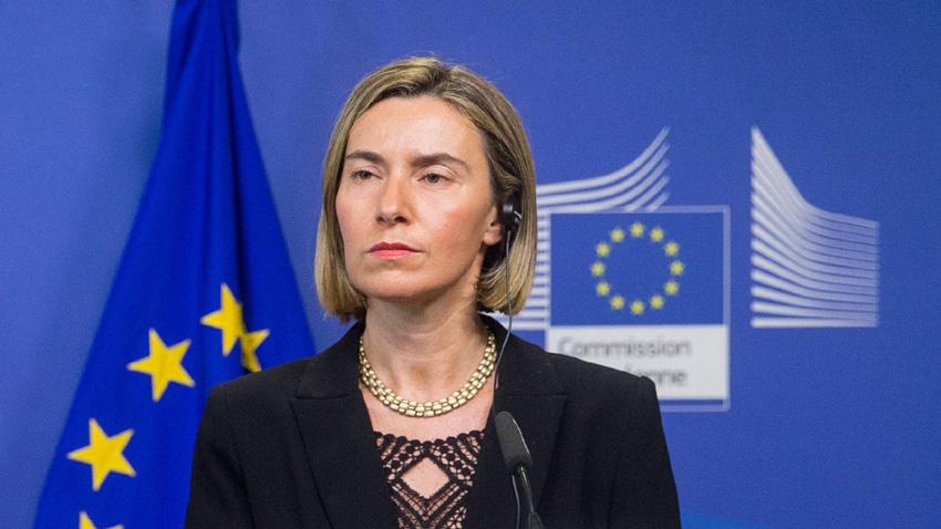 Federica Mogherini, Alta Representante para Asuntos Exteriores y Política de Seguridad / Vicepresidenta de la Comisión Europea. Foto: tomaada de BNR