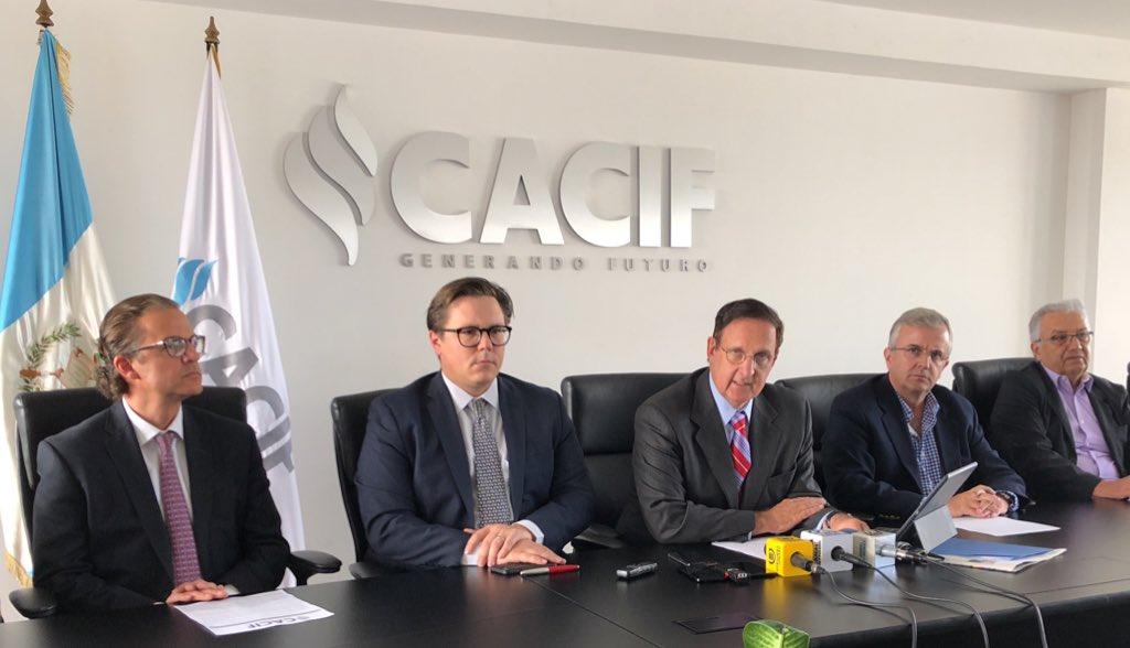 Comité Coordinador de Asociaciones Agrícolas, Comerciales, Industriales y Financieras (CACIF). Foto: República GT