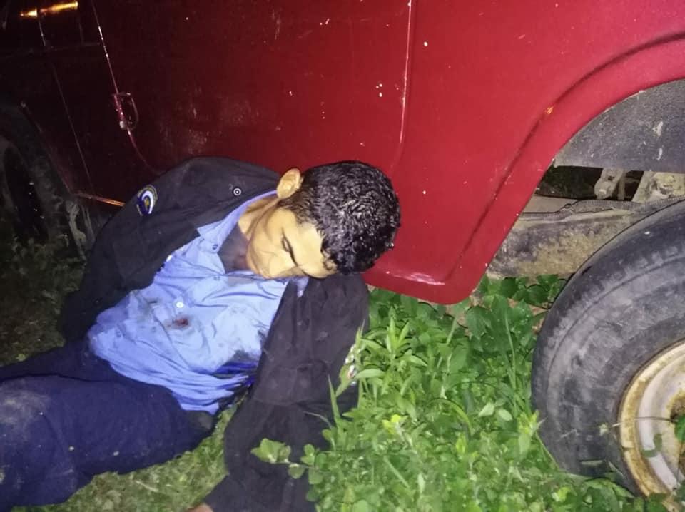 Cuatro policías y un civil muertos en Morrito, Ríos San Juan. Foto: Cortesía