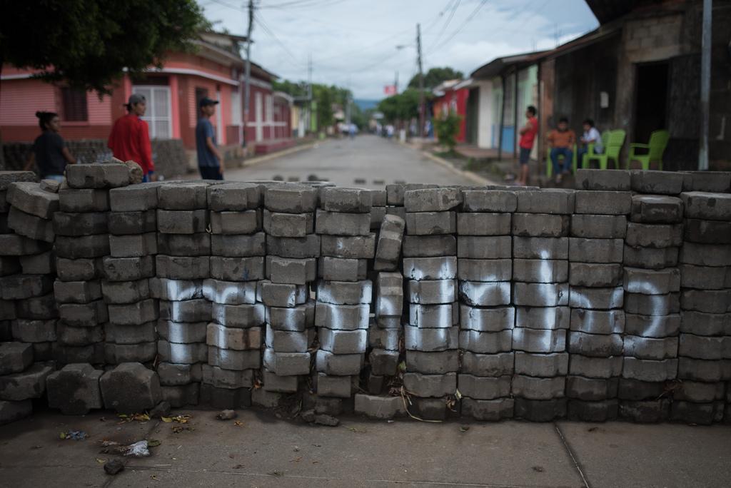 El barrio indígena de Monimbó mantiene su resistencia cívica contra la dictadura de Ortega. Foto: Confidencial