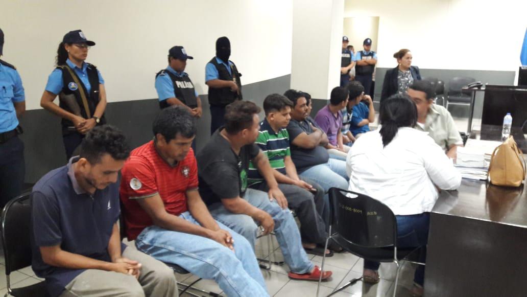 Jueces orteguistas procesan a 23 ciudadanos por protestar en Sébaco y Tipitapa