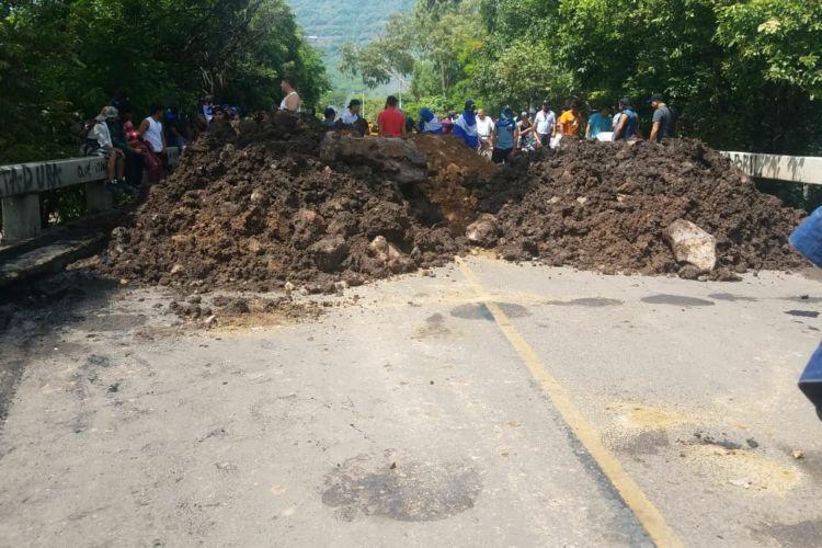 Tranque en La Trinidad, Estelí. Foto: tomada de La Prensa
