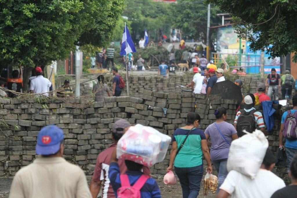Monimbó desmiente supuesto acuerdo para quitar barricadas y desmovilizarse. Fto: LaPrensa