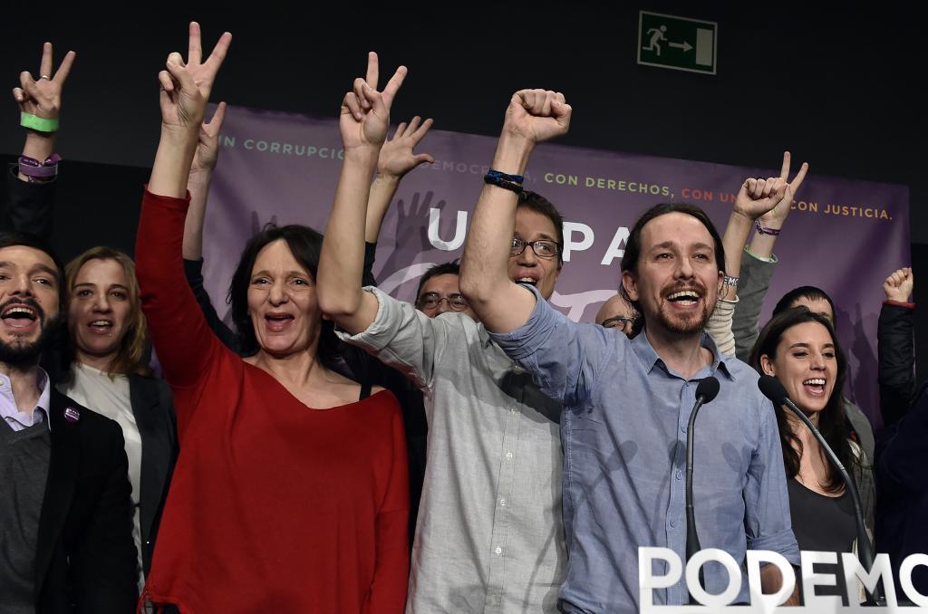Podemos, partido de izquierda en España, lanza un fuerte comunicado contra el régimen de Ortega. Foto: AFP
