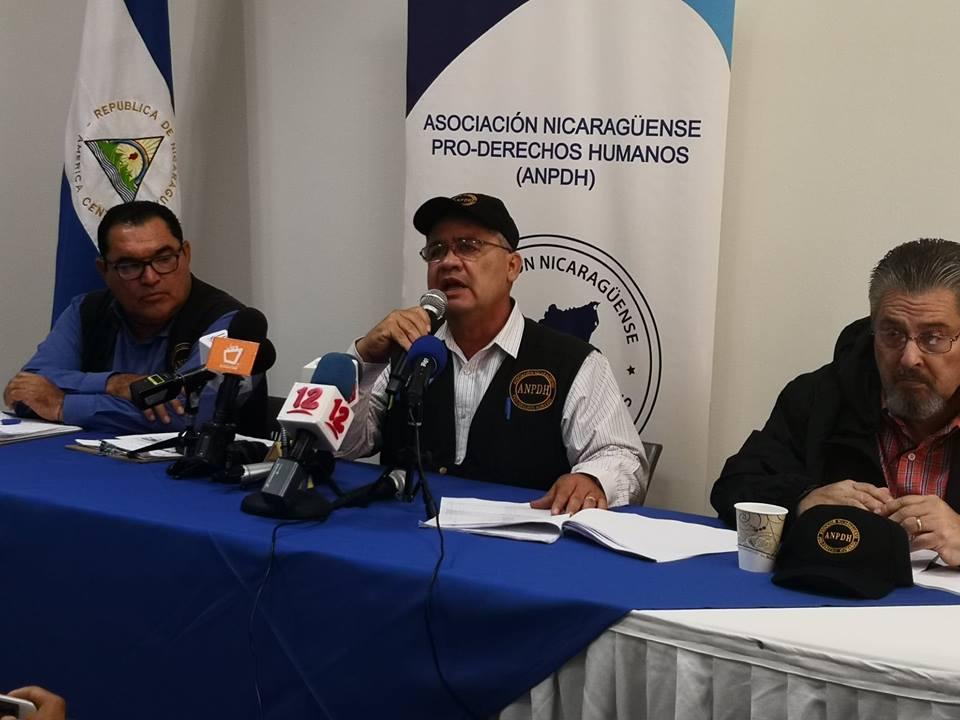 ANPDH: 309 asesinados por el régimen de Daniel Ortega. Foto: Artículo66