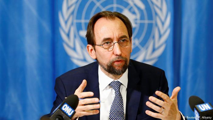 Alto Comisionado de las Naciones Unidas para los Derechos Humanos, Zeid Ra'ad Al Hussein. Fto: ONU