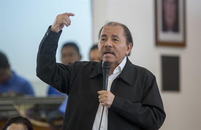Daniel Ortega, presidente de Nicaragua. Foto: Confidencial